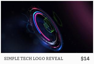 Simple Tech Logo Reveal