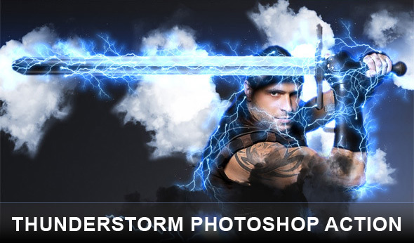 Thunderstorm Photoshop actions