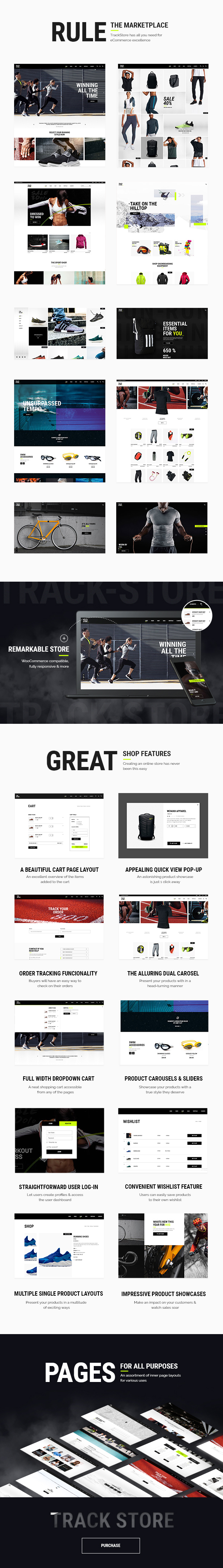 Trackstore An Urban Sportswear Shop By Elated Themes Themeforest