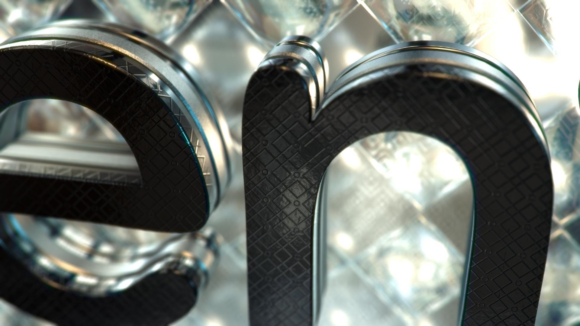 Gold & Black Crystallized Glass Logo Reveal - 3