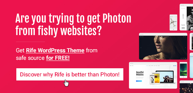 Photon | Fullscreen Photography WordPress Theme - 2