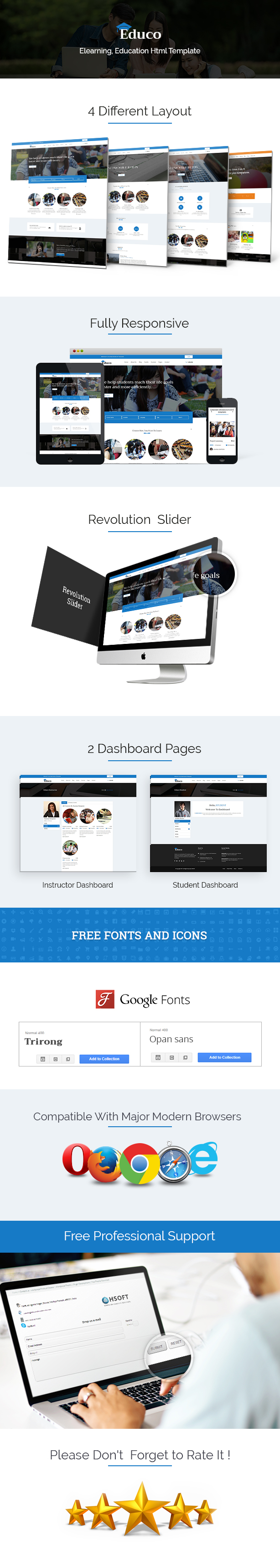 Educo - Elearning, Education Bootstrap Html Template - 7