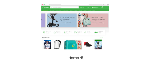 Tokoo - Electronics Store WooCommerce Theme for Affiliates, Dropship and Multi-vendor Websites - 9