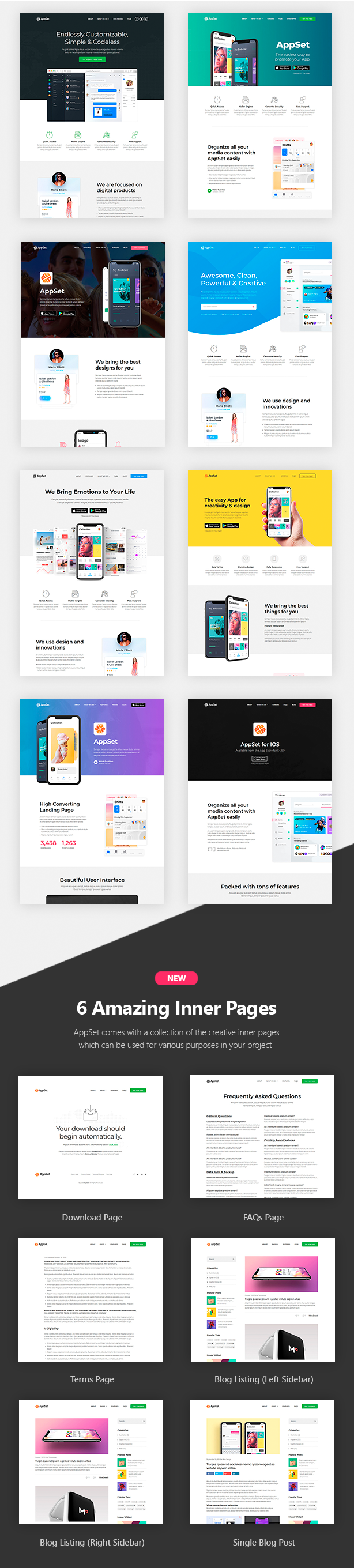 Appset - App landing WordPress Theme - 2