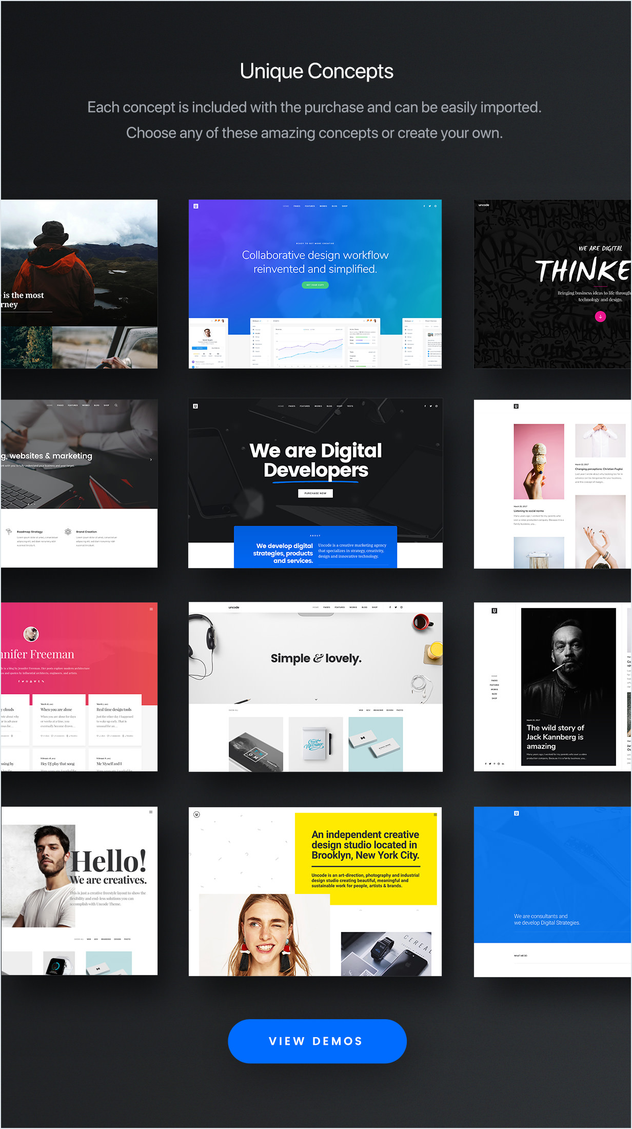 Image result for Uncode WordPress Theme Share Your Creativity