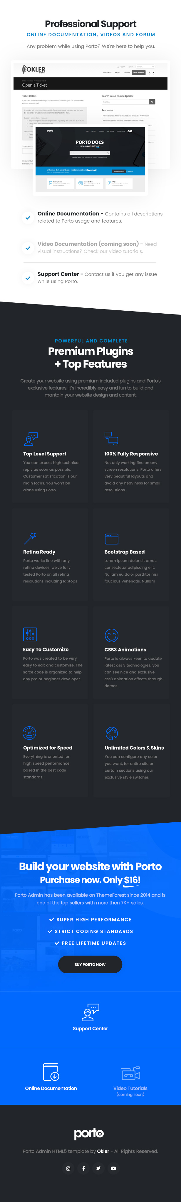 Porto Admin - Responsive HTML5 Template - 4