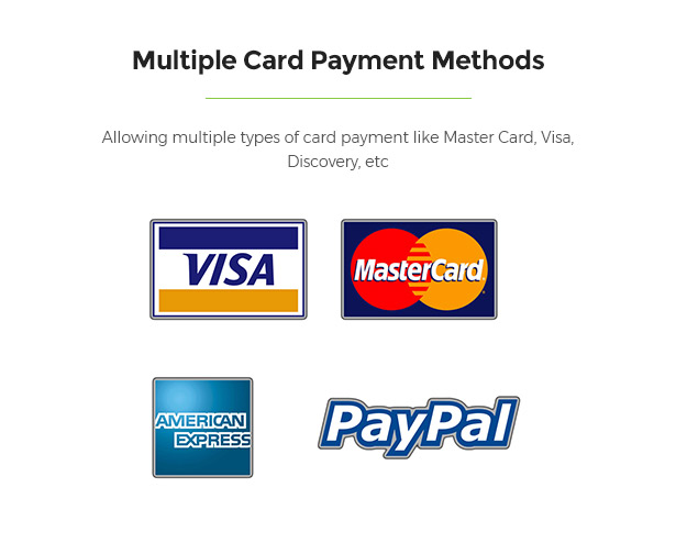 Multiple Payment Methods Support Limonta - Modern Fashion WooCommerce WordPress Theme