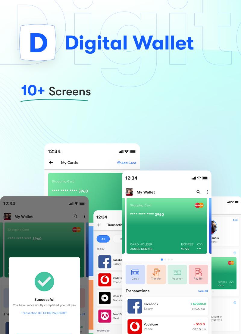 ProKit - Best Selling Flutter UI Kit - 23