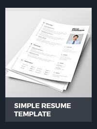 Resume Template - 12