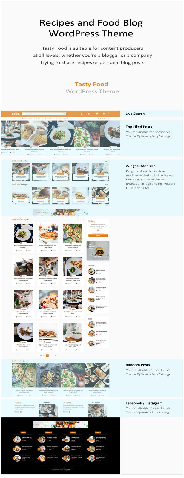 Tasty Food - Recipes & Blog WordPress Theme - 2