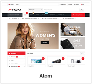 Atom - Multipurpose WordPress Theme