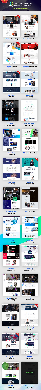 Consultio 1.2.4 –企业商务咨询WordPress主题插图4