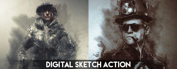 Archi Sketch Photoshop Action - 15