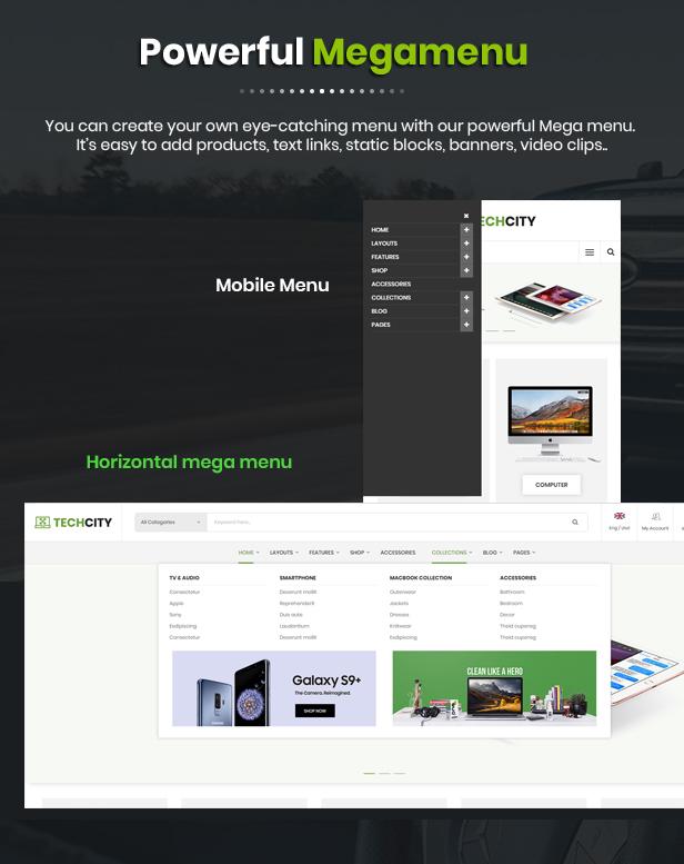 Techcity - Opencart Theme