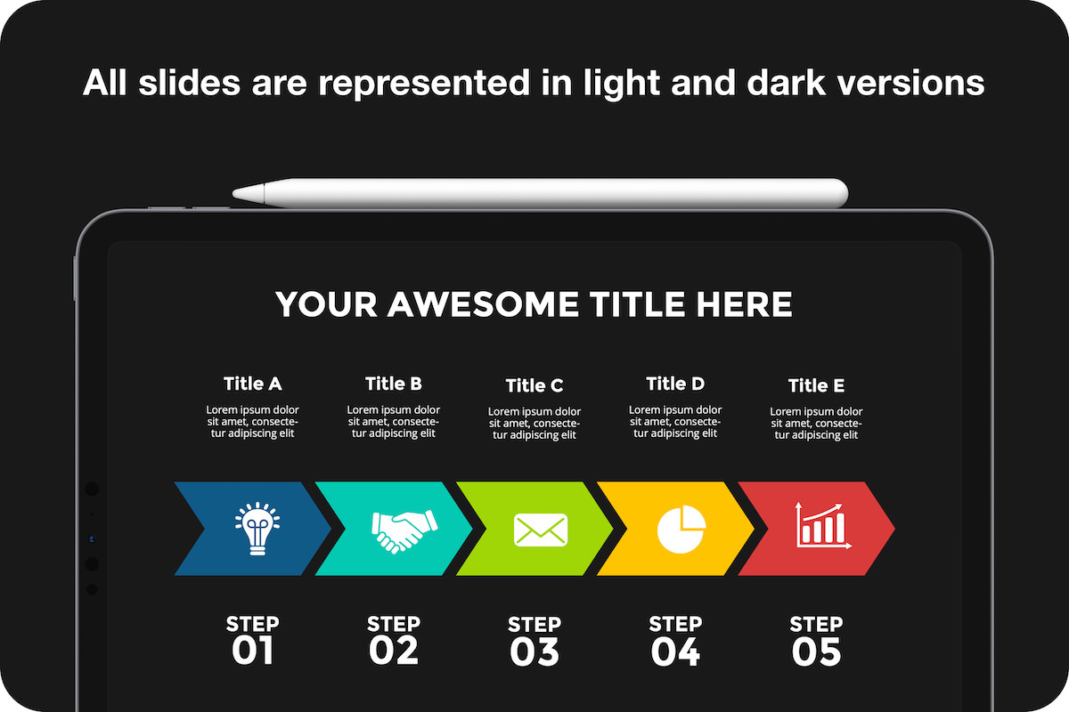 Huge Infographics Bundle! Lifetime Updates! PowerPoint, Photoshop, Illustrator. - 21