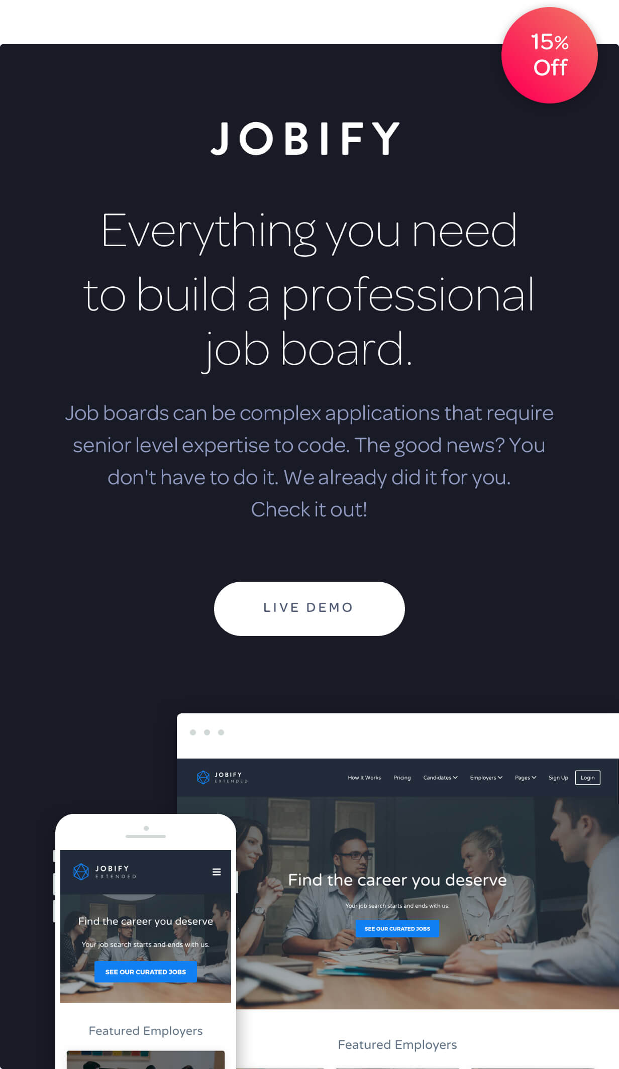 Jobify - The Most Popular WordPress Job Board Theme - 4