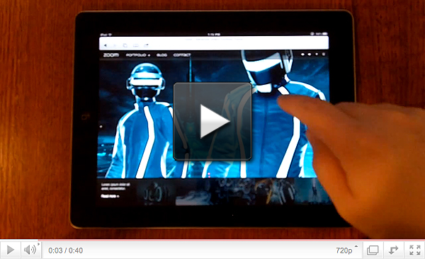 iPad Demo Video