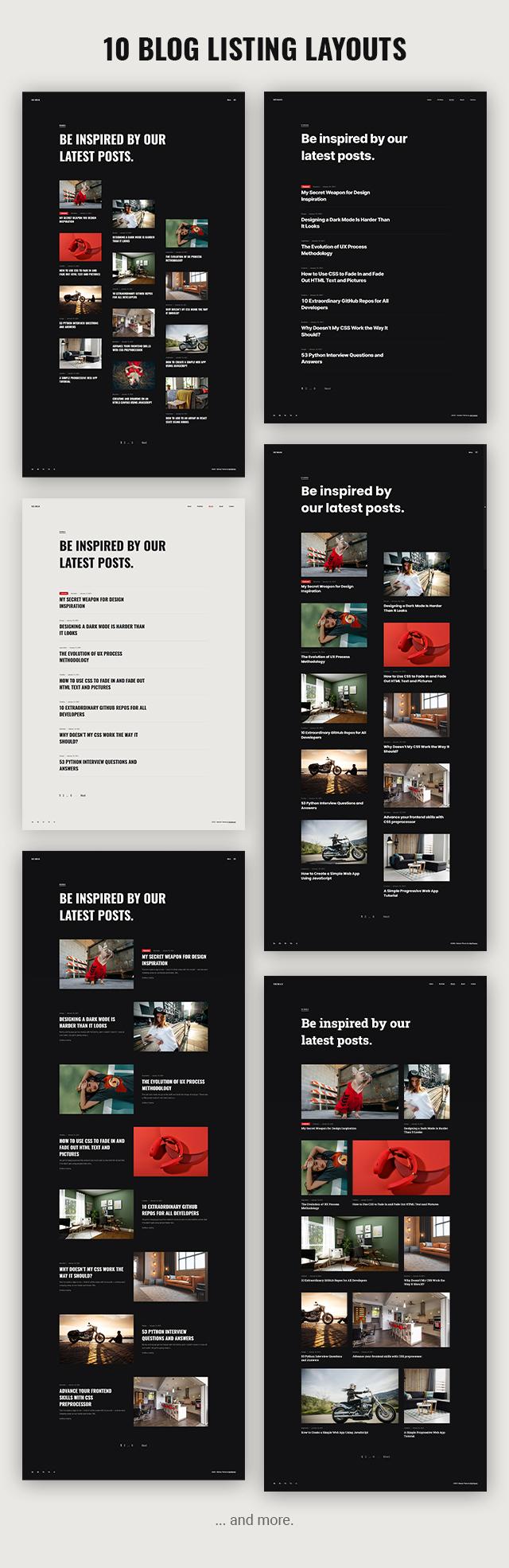 Neiman - Portfolio & Personal Blog WordPress Theme - 7