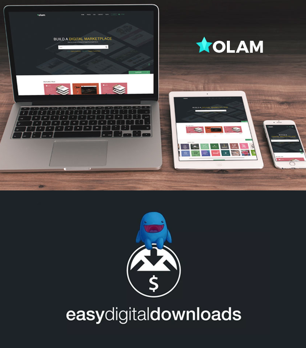 EDD wordpress theme with Easy Digital Downloads compatibility