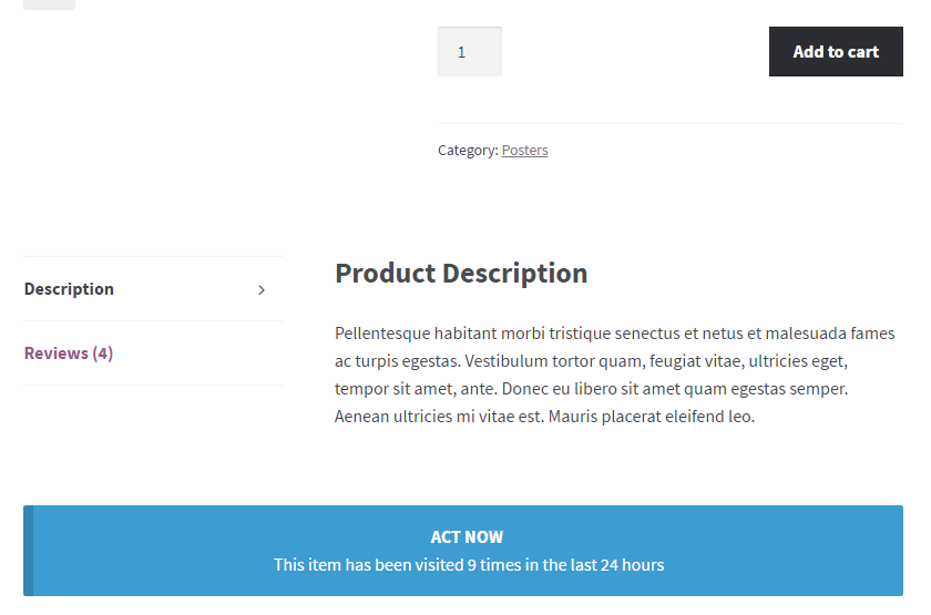 WooPlugins - Woocommerce Urgency and Scarcity - 3