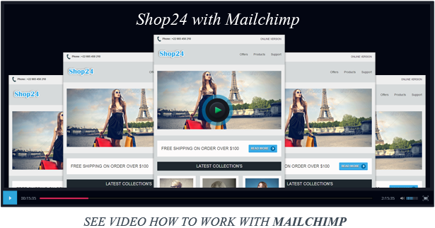 Download Shop24 Responsive Ecommerce Email Template Nulled