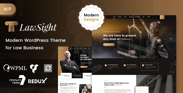 Lawyer & Law WordPress Theme