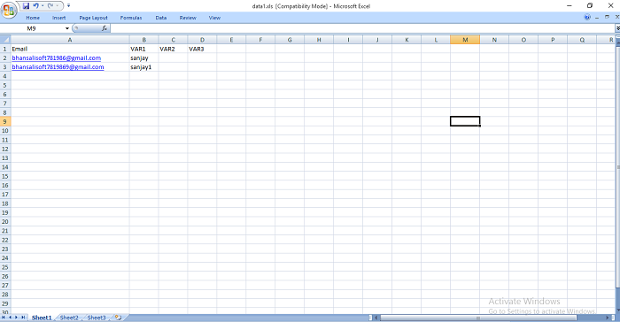 BULK EMAIL Marketing Software - 2