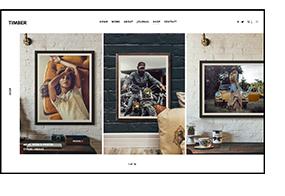 TIMBER – An Unusual Photography WordPress Theme - 5