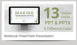 Notebook Power Point Presentation - 4