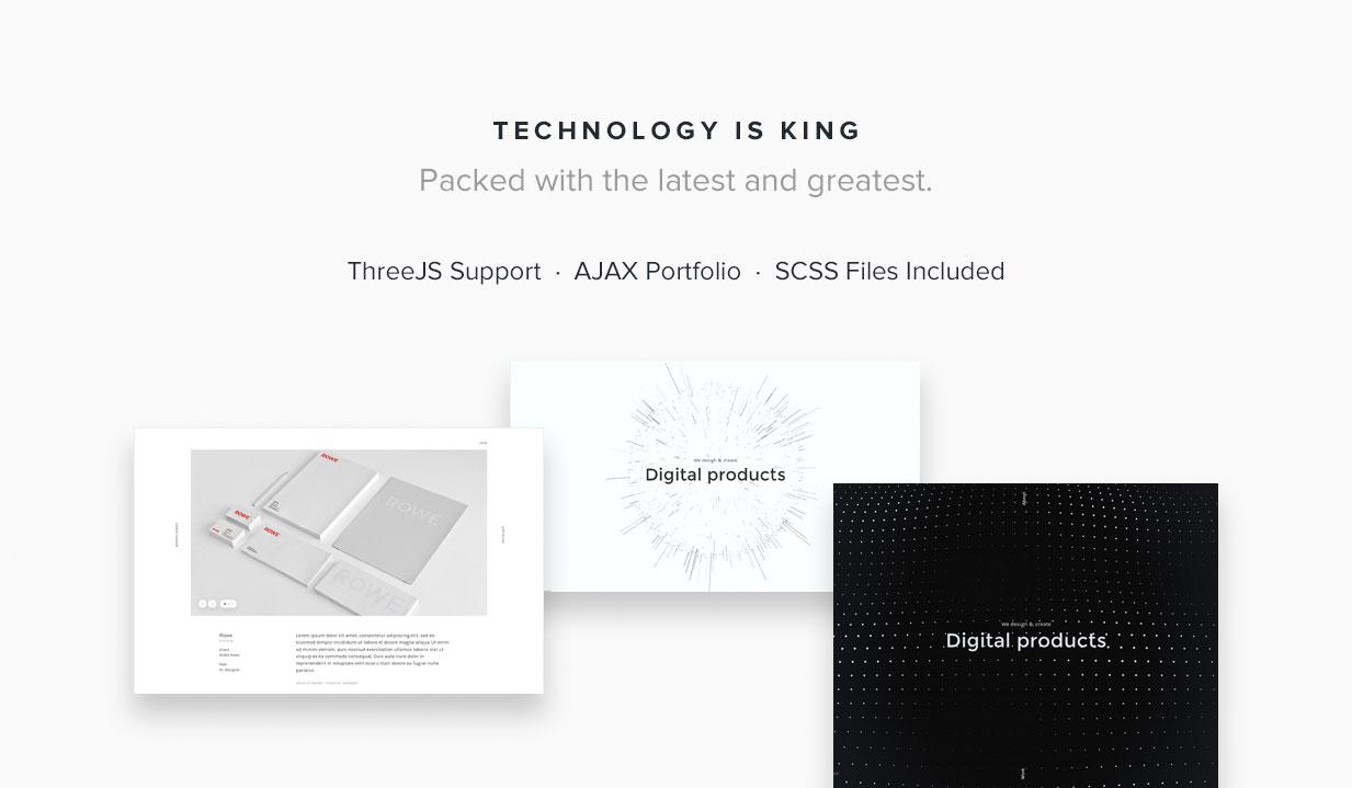 Scenia - Cutting Edge HTML Portfolio - 3
