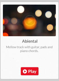 Mellow & chill with electric guitar and piano.