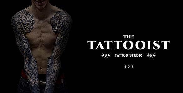 The Tattooist - The Tattooist - Tattoo & Body Art Studio Template