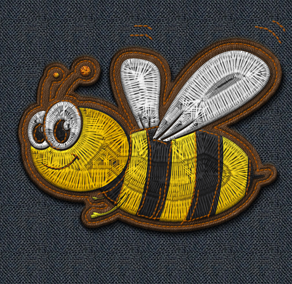 Embroidery And Stitching Photoshop Creation Kit By Psddude