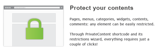 protect contents