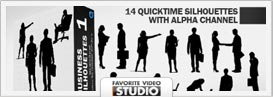 Active Life Rotating Silhouettes Pack - 16