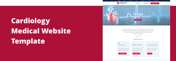 Site | Cardiologist Medical & Heart Health Care Website Template