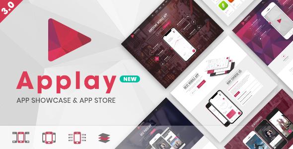 Wordpress App Showcase App Store Theme