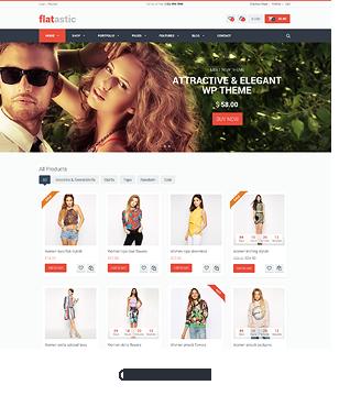 Flatastic - Versatile MultiVendor WordPress Theme - 9