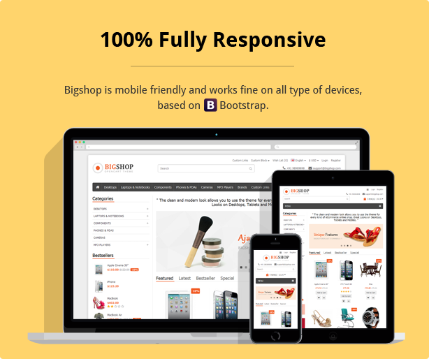 /fully responsive eCommerce template
