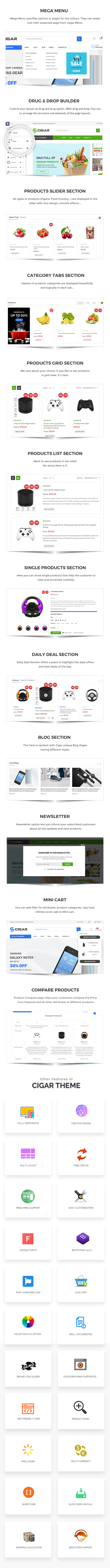 Mega Store Shopify Theme - Cigar - 3