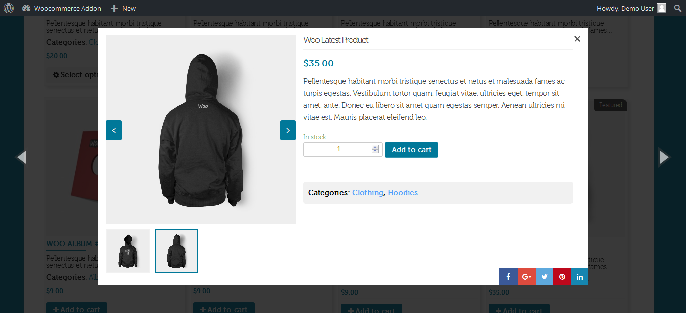 WooCommerce Manage Pages Layout With Unlimited Owl Slider - 1