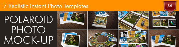 Look at Realistic Insant Photo Templates