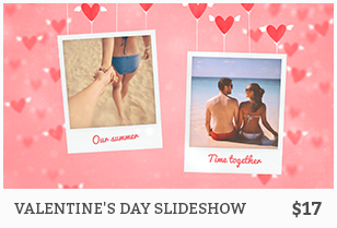 Valentine's Day Photo Slideshow