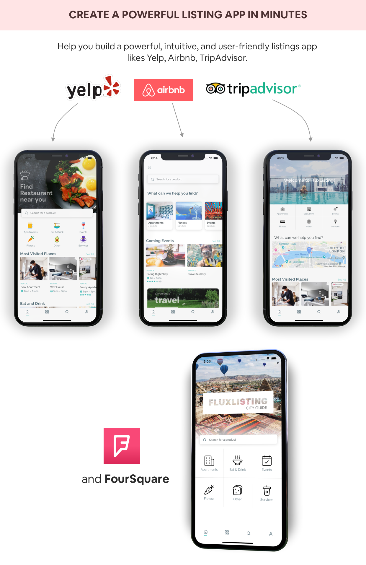 FluxStore Listing - The Best Directory WooCommerce app by Flutter - 6