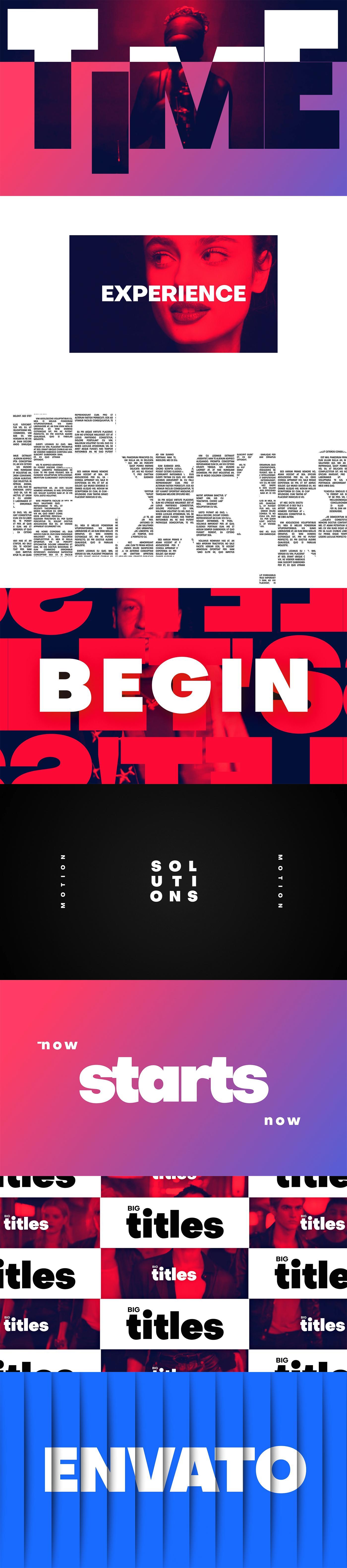 Big Titles -Typography - 1
