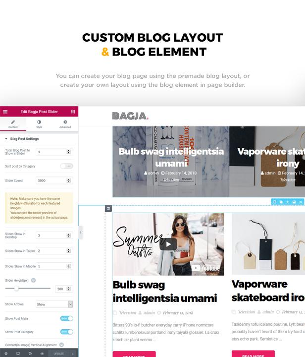 Bagja - Responsive Multi Concept & One Page Portfolio Theme - 2