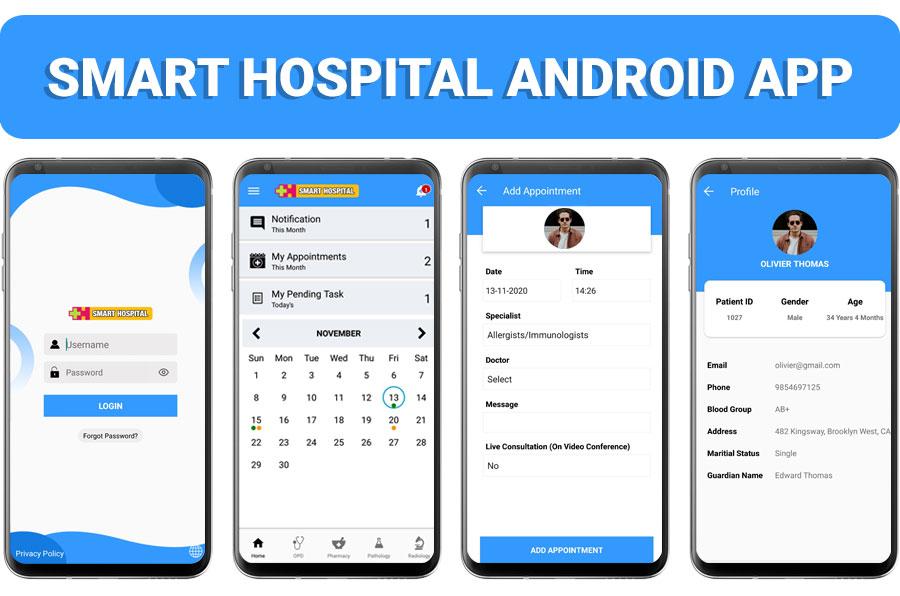 Smart Hospital : Hospital Management System - 1