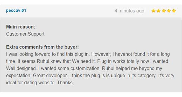 WordPress, BuddyPress Users Chat Plugin - 9