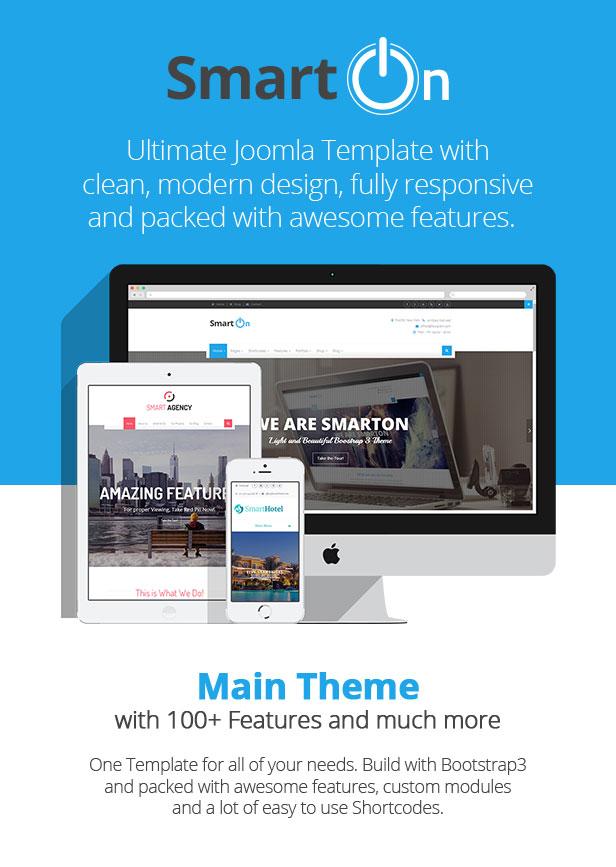 SmartOn - Multi-Purpose Ultimate Joomla Theme - 1