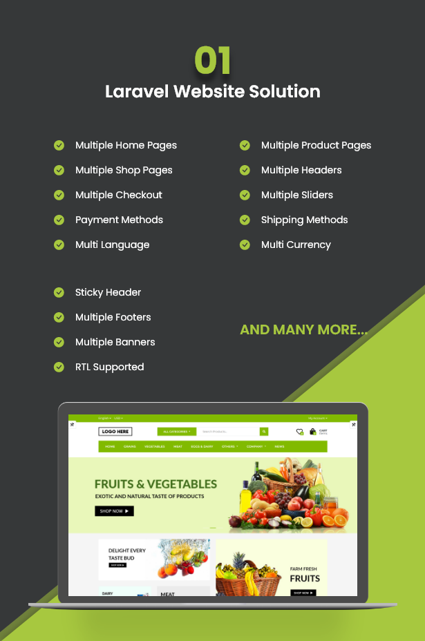 Ecommerce Solution with Delivery App For Grocery, Food, Pharmacy, Any Store / Laravel + Android Apps - 5